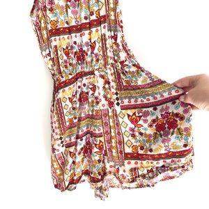 H&M Pants - H&M Coachella collection floral romper size 2